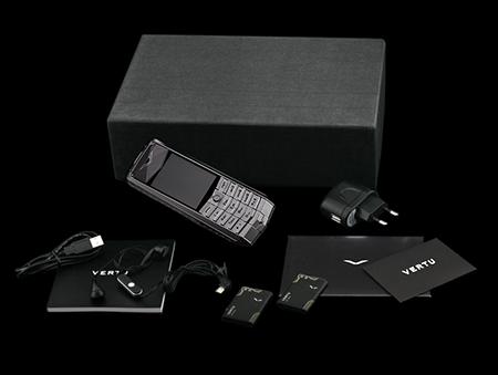 Комплектация телефона Vertu Ascent 2010 Black
