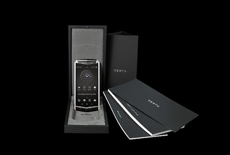 Комплектация телефона Vertu Aster P Gothic BLK Screw Alligator