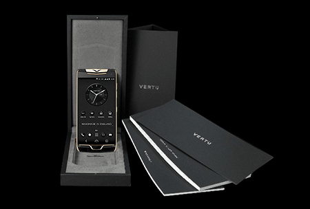 Комплектация телефона Vertu Constellation X Agate Black