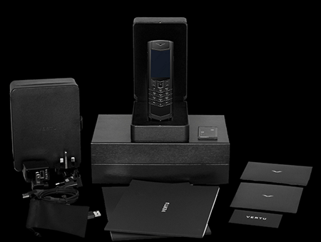 Комплектация телефона Vertu Signature S Design Pure Black Exclusive