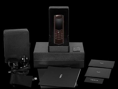 Комплектация телефона Vertu Signature S Design Pure Chocolate Exclusive