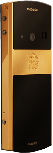 Телефон Мобиадо Classic 712 GCB Gold