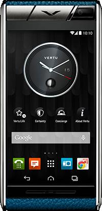 Телефон Vertu Aster Lagoon Calf