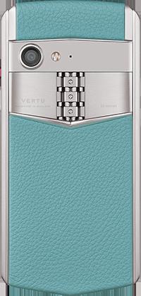 Телефон Верту Aster P Baroque Powder Blue Calf