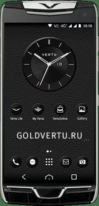 Телефон Vertu Constellation X Alligator Black