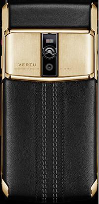 Телефон Верту New Signature Touch Jet Calf Red Gold