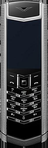 Телефон Vertu Signature S Design Clous De Paris Steel