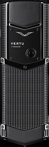 Телефон Верту Signature S Design Clous De Paris Pure Black