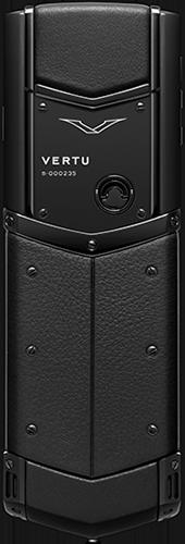 Телефон Верту Signature S Design Pure Black Exclusive