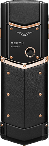 Телефон Верту Signature S Design Pure Black Red Gold Exclusive