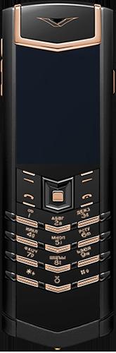 Телефон Vertu Signature S Design Pure Black Red Gold Russian