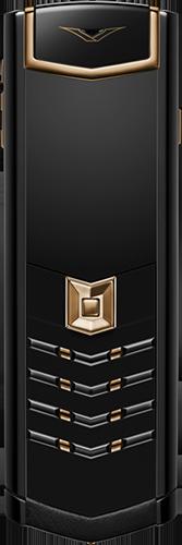 Телефон Vertu Signature S Design Red Gold Ultimate Black Russian