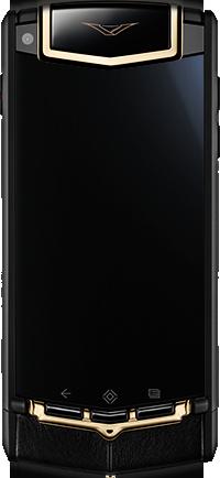 Телефон Vertu Ti Titanium Black PVD Red Gold Mixed Metals