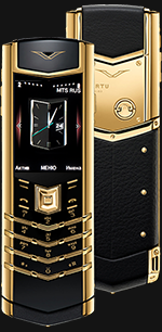 Купить Vertu Signature S Design Gold Exclusive