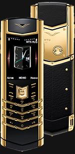 Купить Vertu (Верту) Signature S Design Gold Exclusive